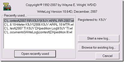 File Open WriteLog