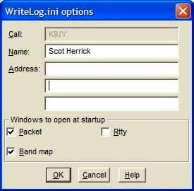 Save Configuration Dialog Box