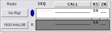 WriteLog 2-Radio Entry Window