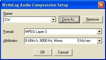 Compression CW