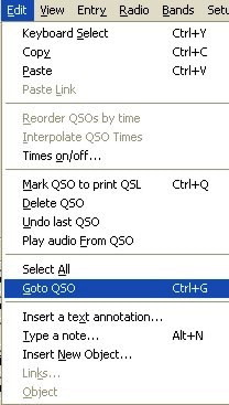 Edit Go To QSO