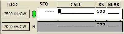 2-radio entry window