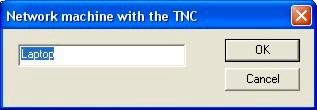 Packet Network Dialog Box